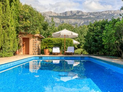 Photo for Lovely Casita in Sóller with pool and garden