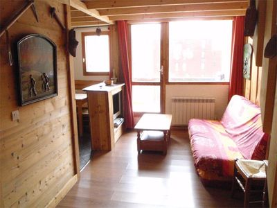 Photo for 2-room apartment isola 2000 2 minutes from the slopes