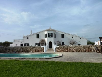 Photo for Menorca style farmhouse less than 2 km from Son Bou.