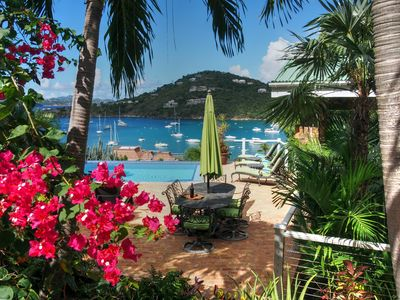 Photo for Chez Shell Villa with amazing views of Great Cruz Bay!