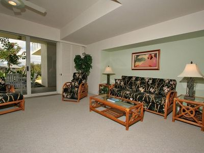 Photo for Ground Floor, 2 Bedroom Condo, Sleeps 6