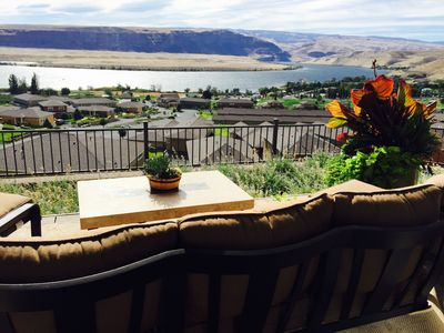 Photo for Executive Villa with private hot tub and commanding views of the Columbia River!