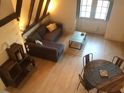 Photo for Superb apartment in the historic heart of Perigueux