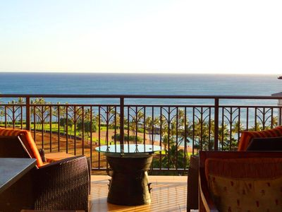 Photo for SPECTACULAR OCEAN VIEW LUXURY 3BR SUITE AT BEACH VILLAS IN KO OLINA RESORT