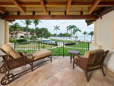 Photo for Gorgeous Beachfront Condo at the Palms