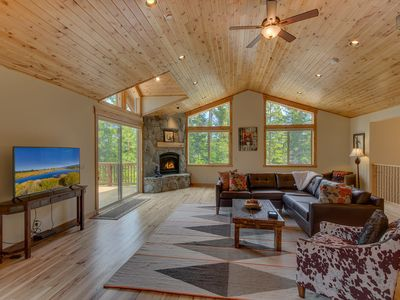 Photo for Beautiful home in Tahoe Vista, 4 bedrooms: The Wildwood