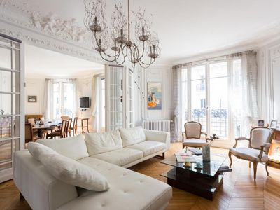 Photo for Rue Pétrarque II - luxury 4 bedrooms serviced apartment - Travel Keys