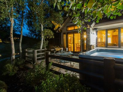 Photo for Ski Deer Valley/PCMR-Peaceful Retreat sleeps 8 w/ Hot Tub and Views-By PADZU