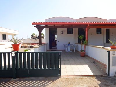 Photo for MARIANNA sea view villa sleeps 4 to 5 in Torre Pali