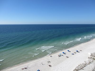 Photo for Spectacular Views:  11th Floor Gulf Front Gulf Tower Condo