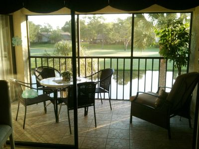 Lanai...access from living room and master bedroom