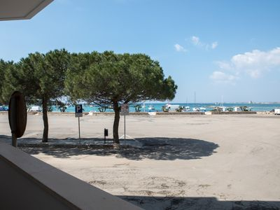 Photo for Apartment overlooking the sea, Porto Cesareo center, 2 bedrooms