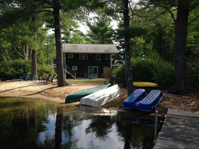Summer and Early Fall Lakeside Cottage Rental - Sanbornville