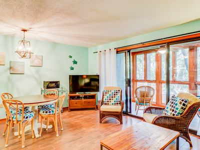 Photo for Dog-friendly condo w/ easy beach access - tennis, golf & more nearby!