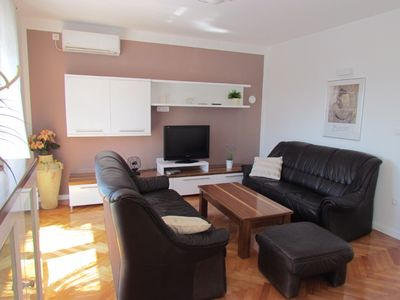 Photo for Beautiful apartment with sea views and large terrace with sea views