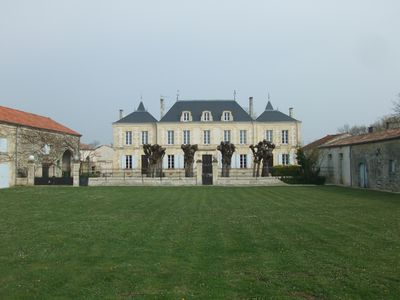 Photo for Stunning Chateau with private pool, huge garden, games room and kids play area!!