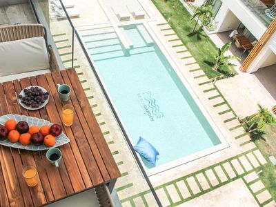 Photo for Luxurious condo steps from the beach. G2. Los Corales. Playa Bavaro