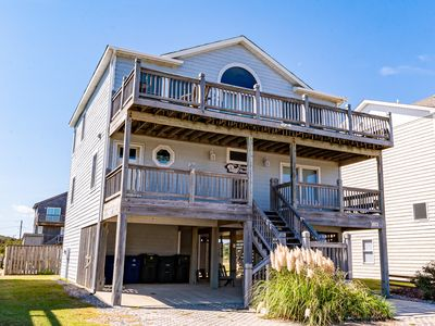 Photo for K1471 Mullen Sandpiper. Semi-Oceanfront, 4 BD, Pool, 150 Yards to the Beach
