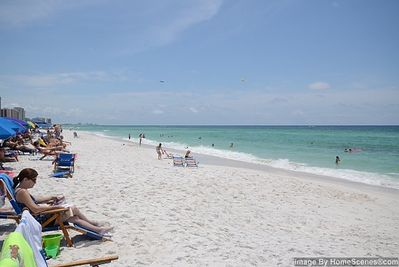 Nothing like the white sand of Destin!