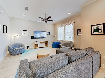Photo for New Listing! Prominence Townhome w/ Pool, Gym & Golf Cart for Beach Access