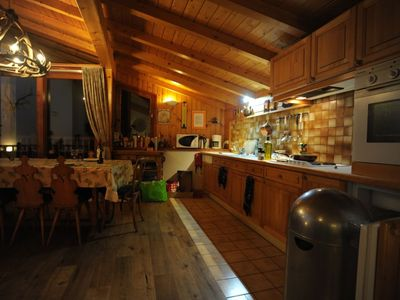 Photo for LUXURY CHALET IN AN AUTHENTIC MOUNTAIN VILLAGE