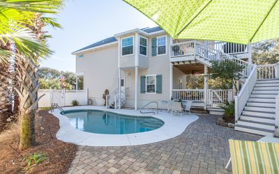 Photo for Villa Del Lago  -  5 bed 4 bath Seacrest home with private dock and pool !
