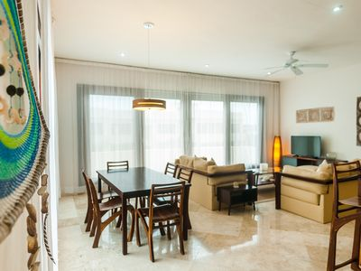 Photo for Two bedroom Condo- Private pool . 2 Private Jacuzzis - Clothing Optional