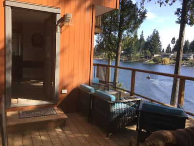 Photo for Lakefront Escape Luxury Vacation Rental