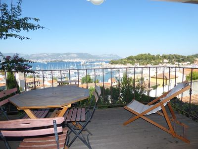 Photo for Sea view, internet, 2 bedrooms, 300 m from the port