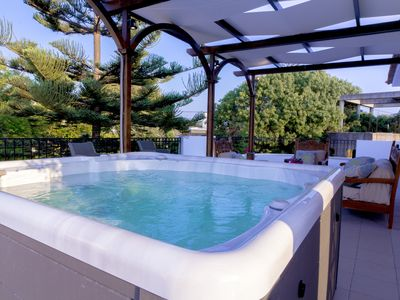 Photo for Four bedroom Two storey  Villa, great location,outdoor Jacuzzi , pool & garden!