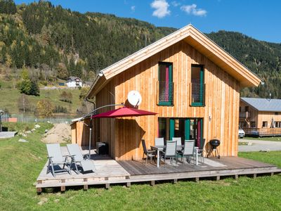 Photo for Detached, luxury wooden chalet with sauna and jacuzzi