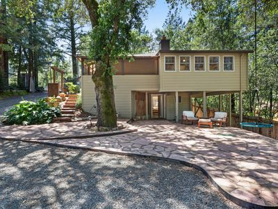 Photo for Family-friendly home surrounded by vineyards w/ hot tub & swim spa - dogs OK!