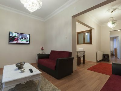 Photo for Apartment with Balcony Near Taksim Sq.