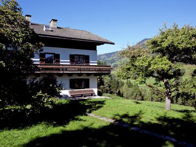 Photo for A detached holiday home with plenty of privacy, near Kaprun and Zell am See.