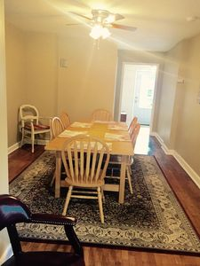 Dining room for at least 6 people