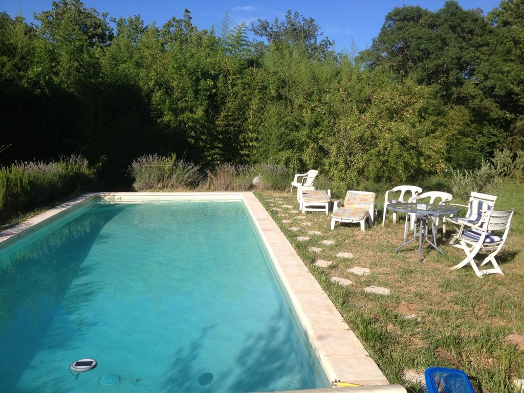 Detached house for nature lovers with quiet pool gonfaron for Camping var piscine bord de mer