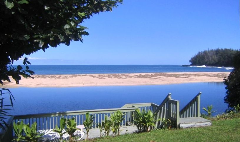Private beach and Pacific views from all rooms in Kauai Paradise House & Oceanfront Views * 3 Masters With Baths * A... - VRBO