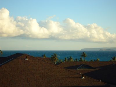 Ocean view to Molokini and Makena from your lanai.