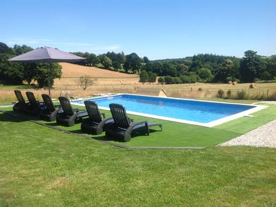 Photo for Newly Renovated 3 Bedroom Stone Cottage with heated Pool and WIFI (sleeps 6).