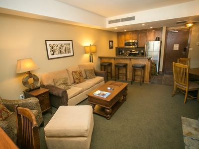Photo for Condo steps away from the slopes and Canyons Village