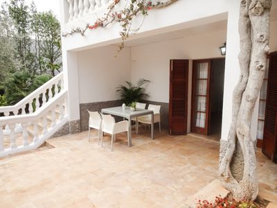 Photo for Rustic apartment Terrassa in Cala Ratjada Mallorca for 4 persons with terrace.