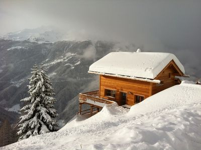 Photo for family cottage KERZOC to 1874 m. above sea level, views of the Matterhorn