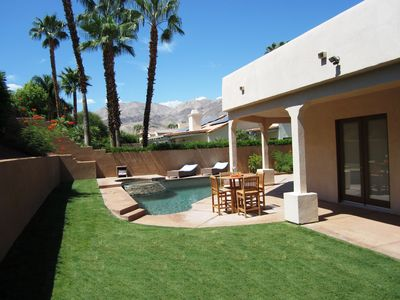 Photo for Luxury Home, Saltwater Pool, Near El Paseo, Fully Updated