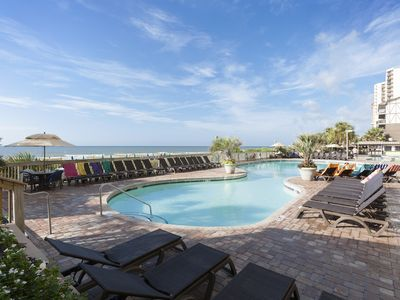 *GREAT RATES! PERFECT FOR FAMILIES! POOL FUN! OCEANFRONT SUITE!*