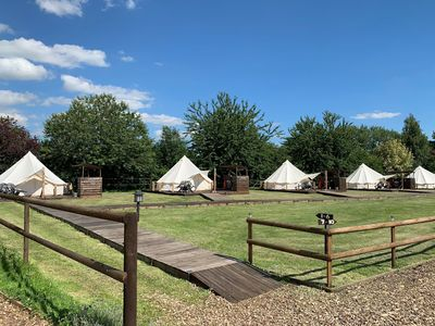 Photo for Oak Lodge Retreat - Glamping F