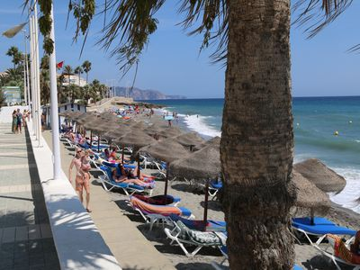 Photo for Lovely 2 bedroom apartment only 100 meters from Torrecilla Playa - Nerja centre