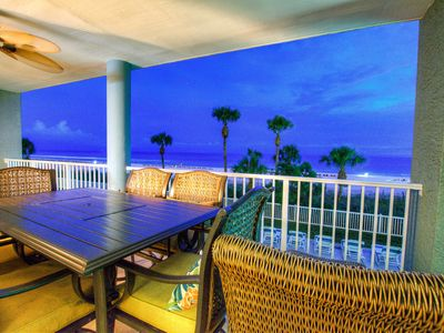 Photo for PARKING FEE INCLUDED-Spectacular 3 BD Ocean Front,Second Floor.Long Beach 1-106