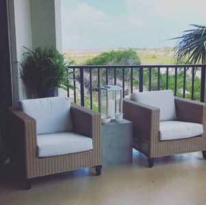 Photo for Bay view condo with Gulf Beach Access