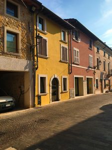 Photo for Newly renovated apartment in the historic center of Manerba del Garda