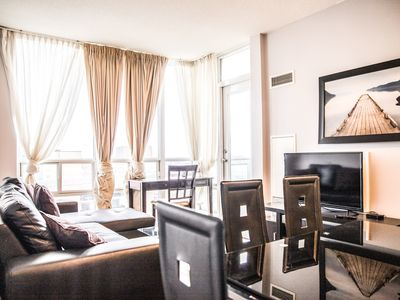 Photo for Amazing Large 2 Bedroom / 2 Washroom Condo Close to Square One Mall!